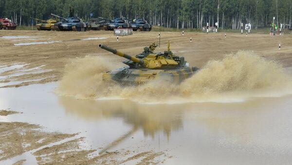 Đội tuyển Việt Nam tại Tank Biathlon-2020. - Sputnik Việt Nam
