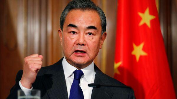 Bộ ngoại giao Trung Quốc Vương Nghị - Sputnik Việt Nam