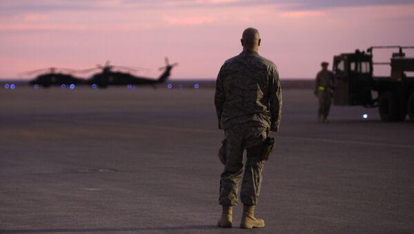 Lính Mỹ tại căn cứ không quân Ein al-Assad ở Iraq - Sputnik Việt Nam