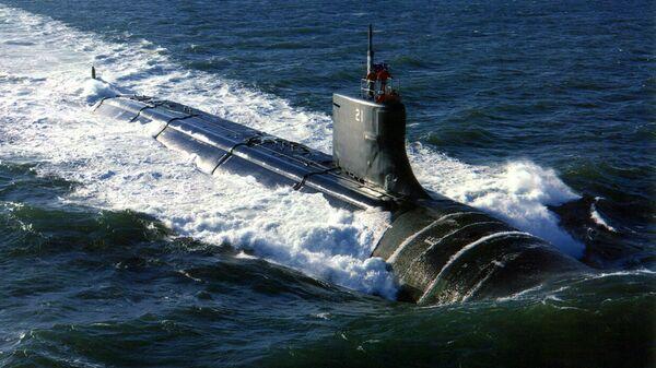 Tàu ngầm hạt nhân USS Seawolf - Sputnik Việt Nam