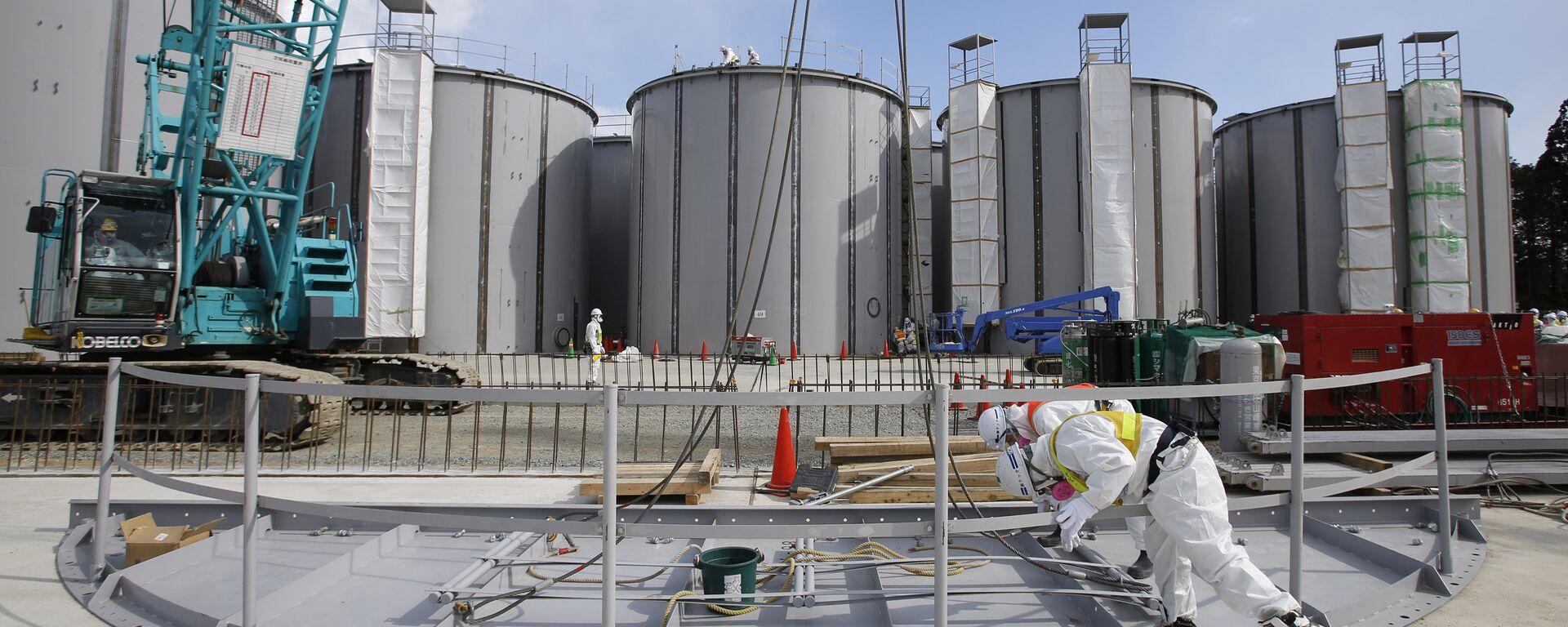 Nhà máy điện hạt nhân Nhật Bản Fukushima-1. - Sputnik Việt Nam, 1920, 03.09.2020