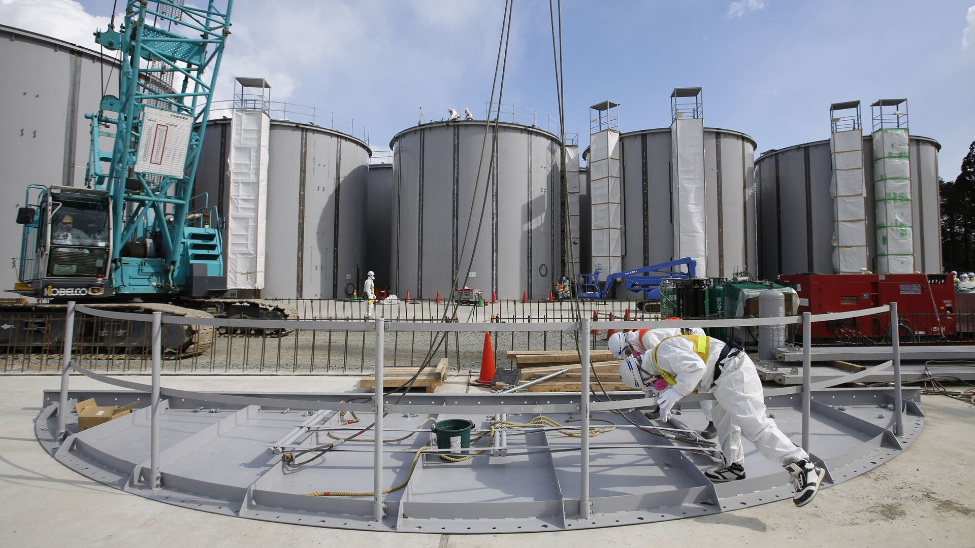 Nhà máy điện hạt nhân Nhật Bản Fukushima-1. - Sputnik Việt Nam, 1920, 14.09.2021