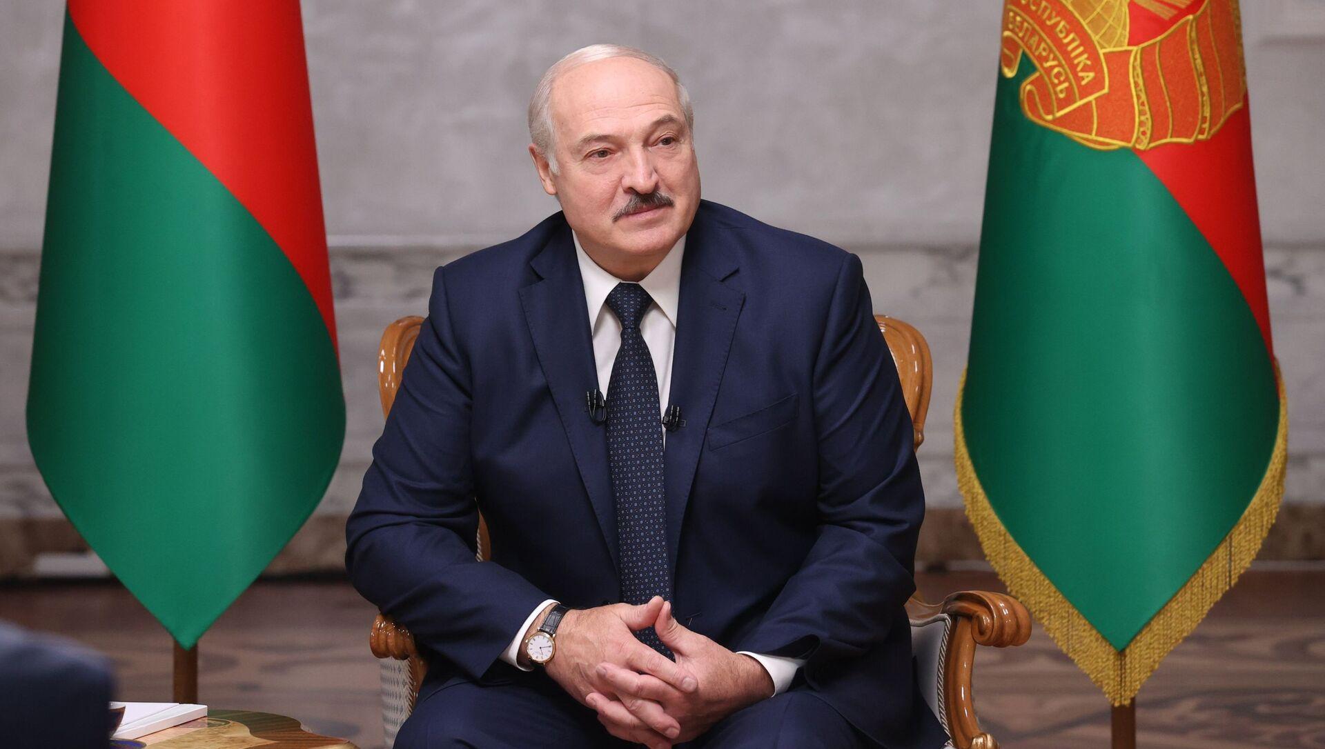 Nhà lãnh đạoBelarusAlexander Lukashenko. - Sputnik Việt Nam, 1920, 28.05.2021