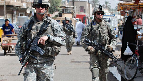 Lính Mỹ ở Iraq - Sputnik Việt Nam