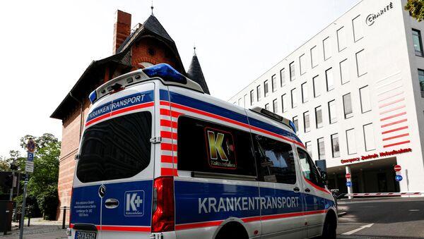 Phòng cấp cứu trung tâm tại Charité Berlin, nơi Alexej Navalny đang được điều trị - Sputnik Việt Nam