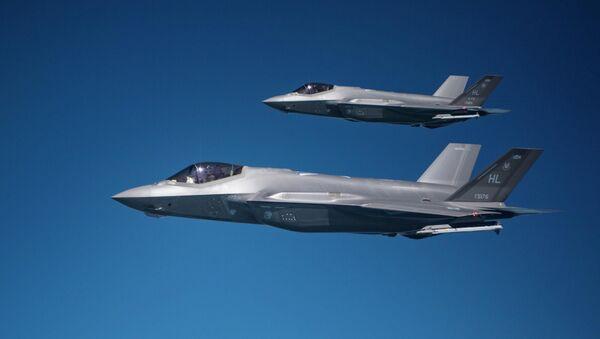 Tiêm kích F-35 F-35A Lightning II. - Sputnik Việt Nam