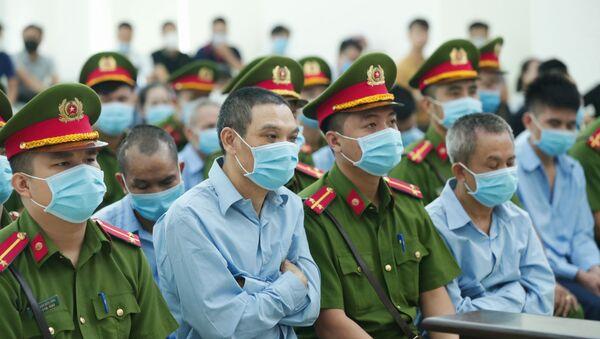 Các bị cáo tại phiên tòa sáng 10/9. - Sputnik Việt Nam
