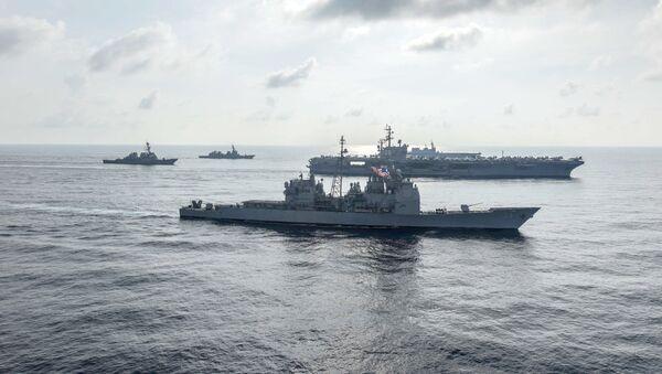 Tàu Mỹ ở Biển Đông - Sputnik Việt Nam