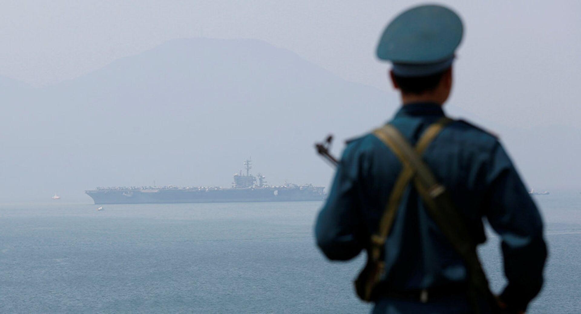 «Những người xanh»: Chiêu thức của Bắc Kinh dùng tàu cá mở rộng thế lực ở Biển Đông - Sputnik Việt Nam, 1920, 14.04.2021