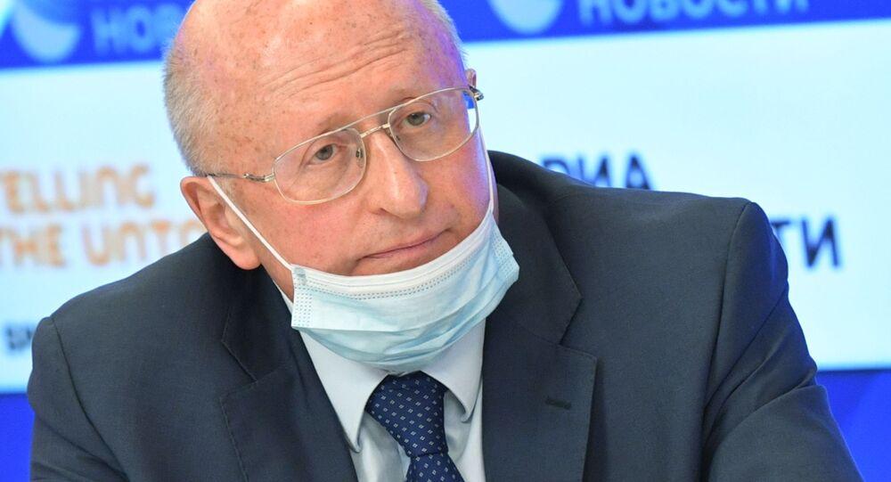 Giám đốc Trung tâm Gamaleya thuộc Bộ Y tế Nga Alexander Gintsburg.