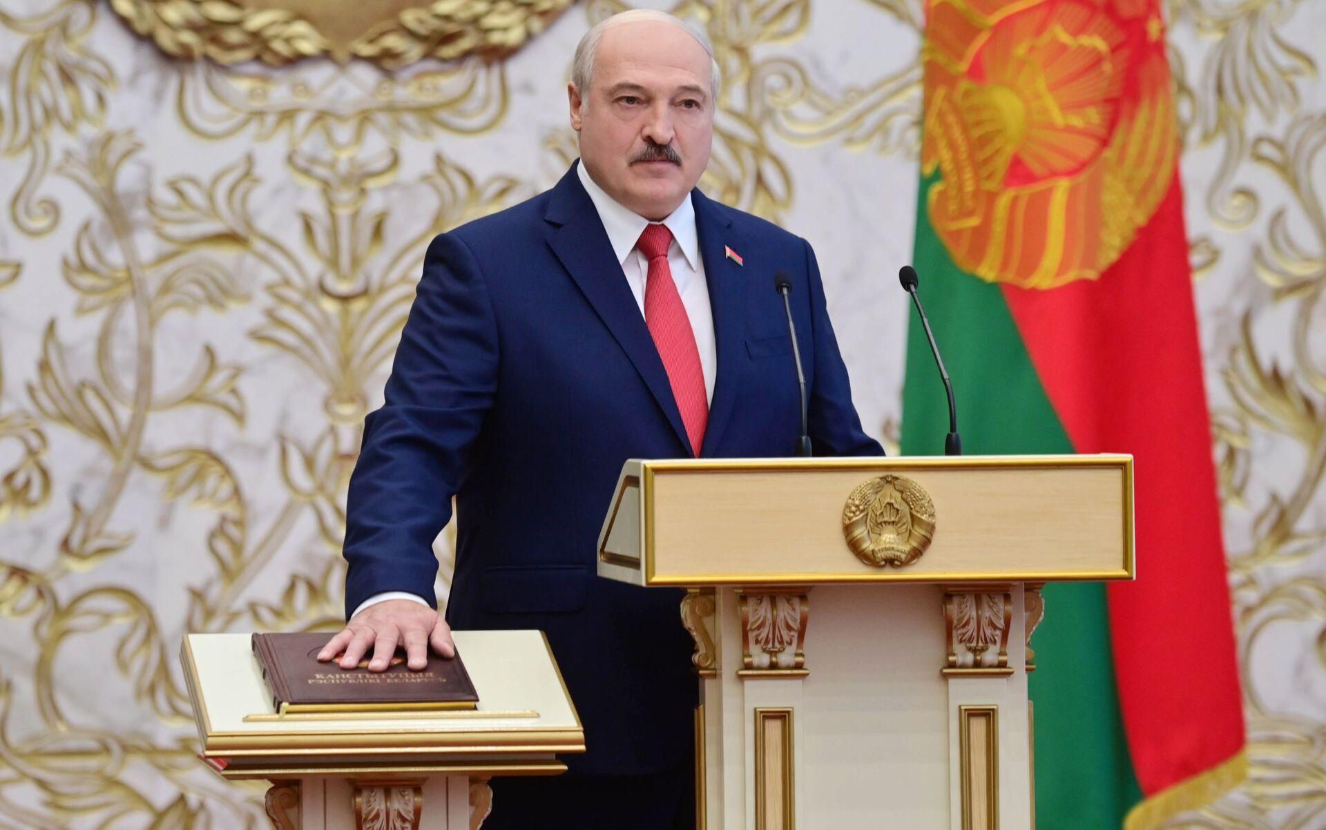 Ông Putin nói về nỗ lực đảo chính ở Belarus - Sputnik Việt Nam, 1920, 21.04.2021