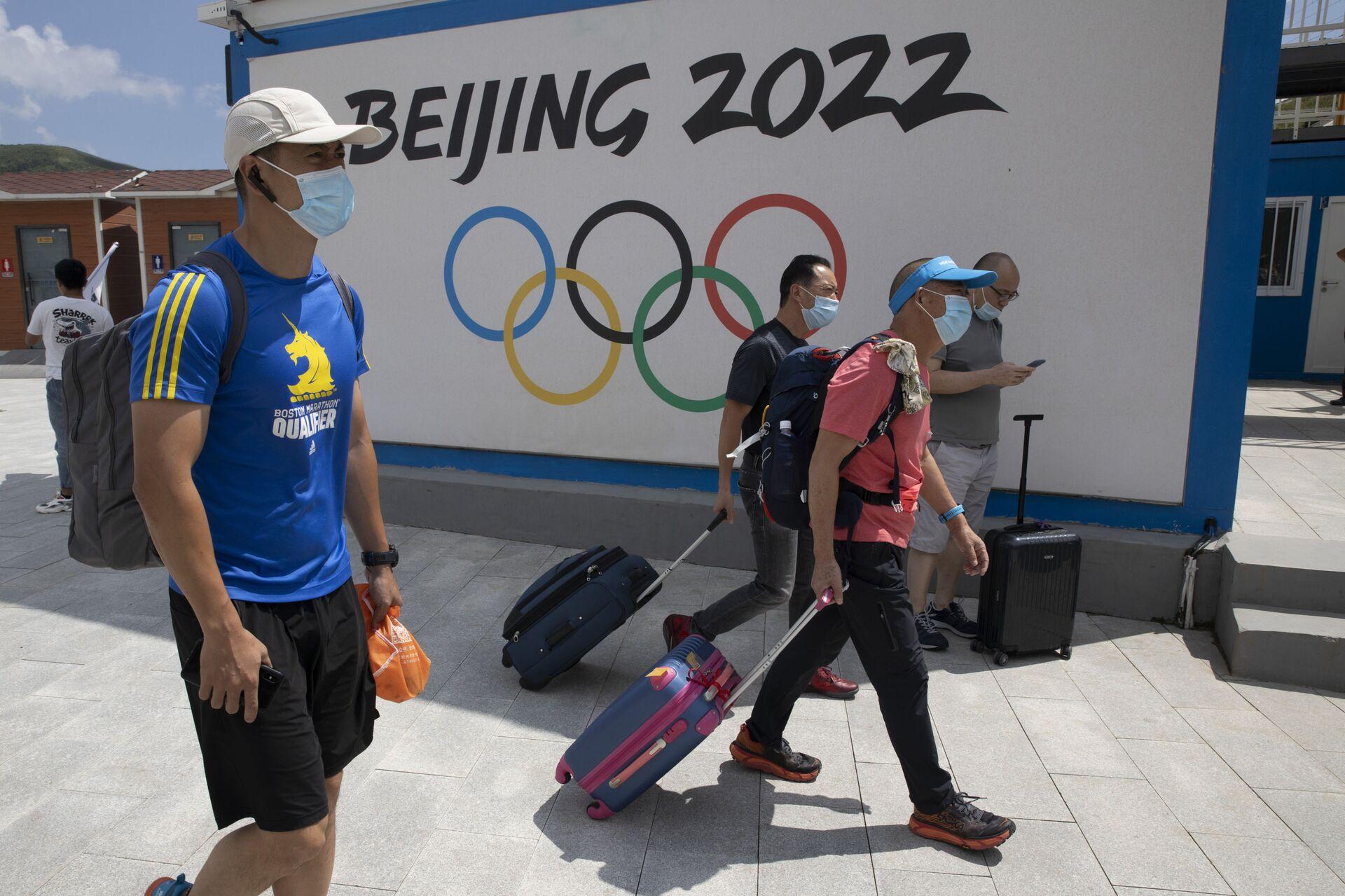 Trung Quốc có thể trả đũa các thủ đoạn phi thể thao của phương Tây trước Thế vận hội Bắc Kinh - Sputnik Việt Nam, 1920, 08.06.2021
