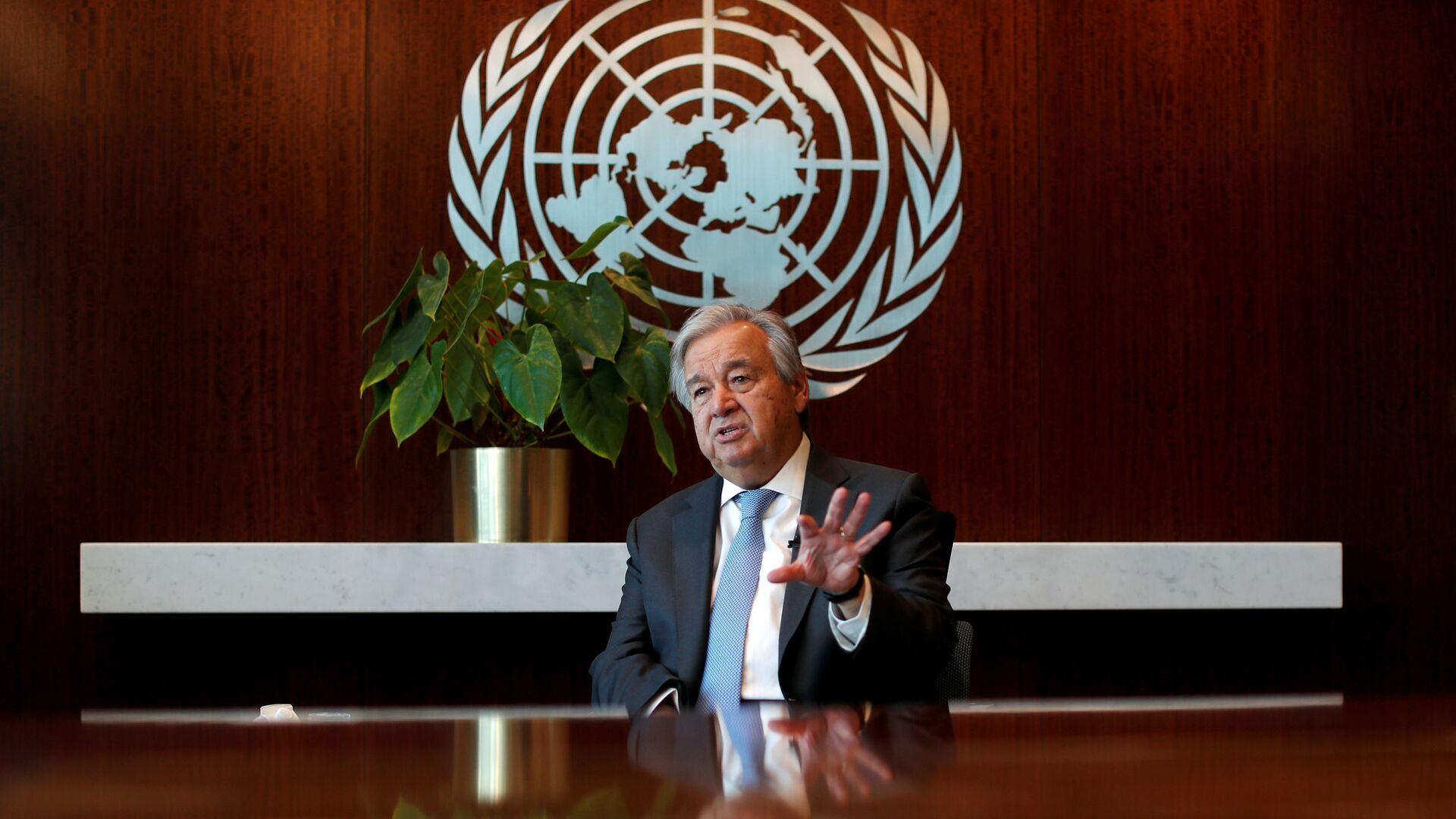 Tổng thư ký Liên hợp quốc Antonio Guterres - Sputnik Việt Nam, 1920, 20.09.2021
