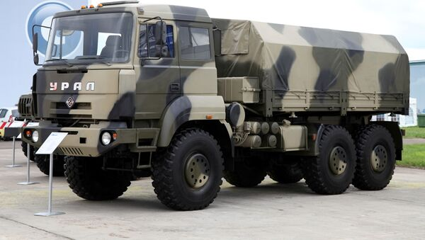 Ural-6370 tại triển lãm năm 2012 - Sputnik Việt Nam