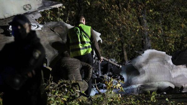 Máy bay An-26 gặp tai nạn ở Ukraina. - Sputnik Việt Nam
