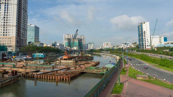 Xây dựng tại Thành phố Hồ Chí Minh. - Sputnik Việt Nam