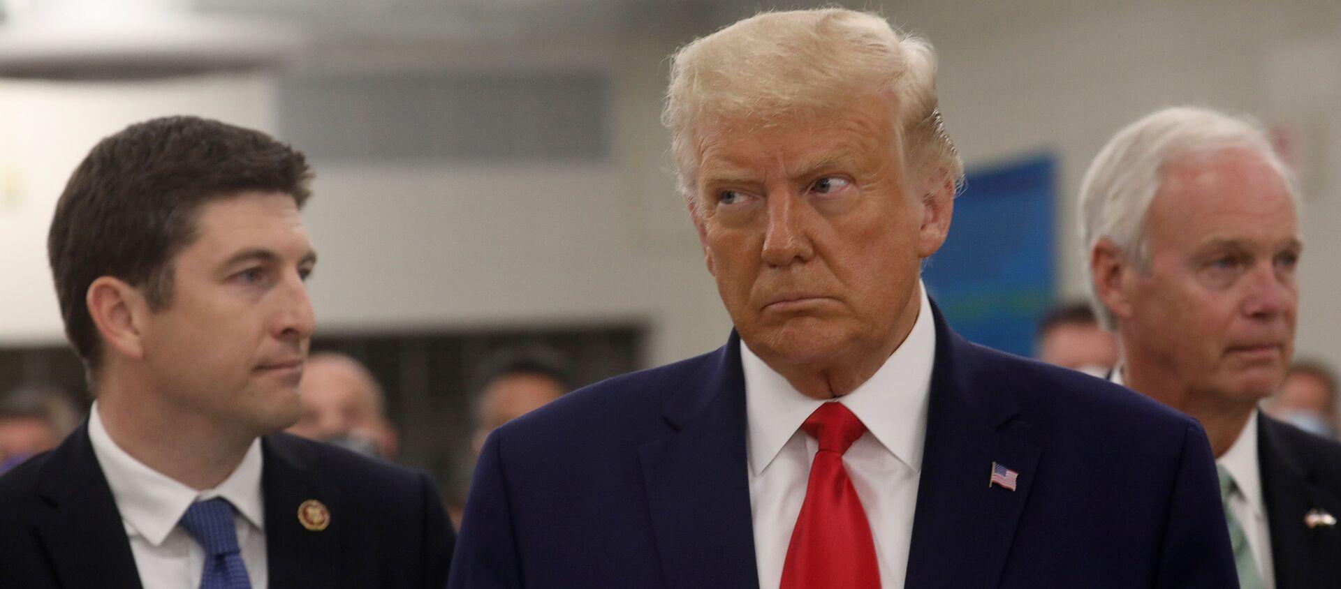 Tổng thống Hoa Kỳ Donald Trump - Sputnik Việt Nam, 1920, 07.10.2020