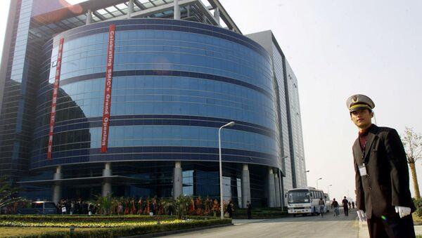 Tòa nhà của tập đoàn Trung Quốc SMIC ở Thượng Hải. - Sputnik Việt Nam