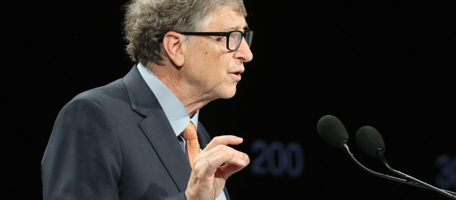 Doanh nhân người Mỹ Bill Gates - Sputnik Việt Nam, 1920, 30.09.2020