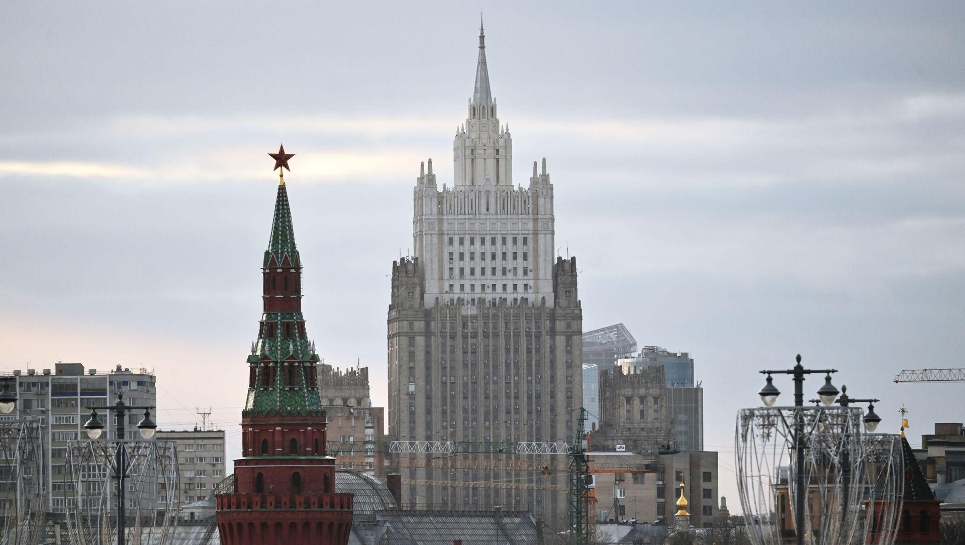 Tòa nhà của Bộ Ngoại giao Liên bang Nga. - Sputnik Việt Nam, 1920, 19.04.2021