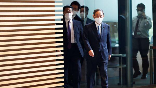 Người đứng đầu Chính phủ Nhật Bản ông Yoshihide Suga. - Sputnik Việt Nam