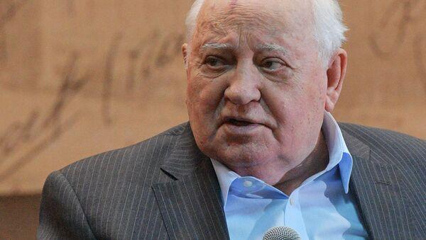 Cựu Tổng thống Liên Xô Mikhail Gorbachev. - Sputnik Việt Nam