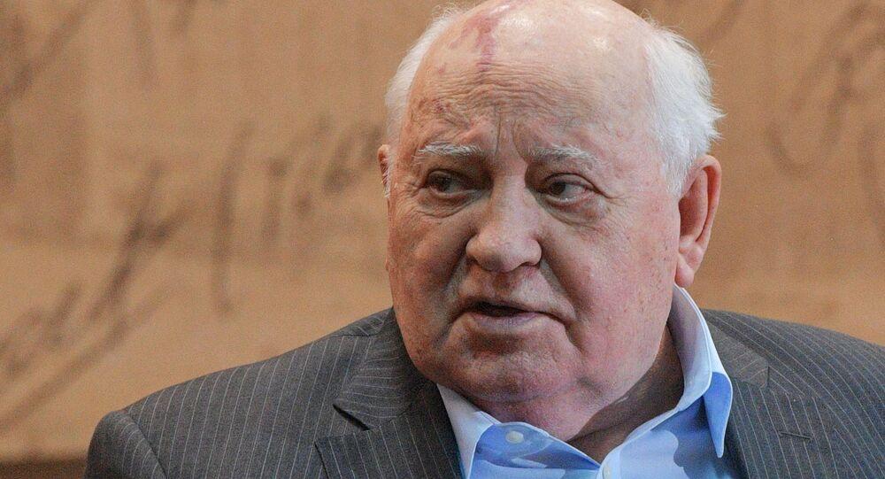 Cựu Tổng thống Liên Xô Mikhail Gorbachev.