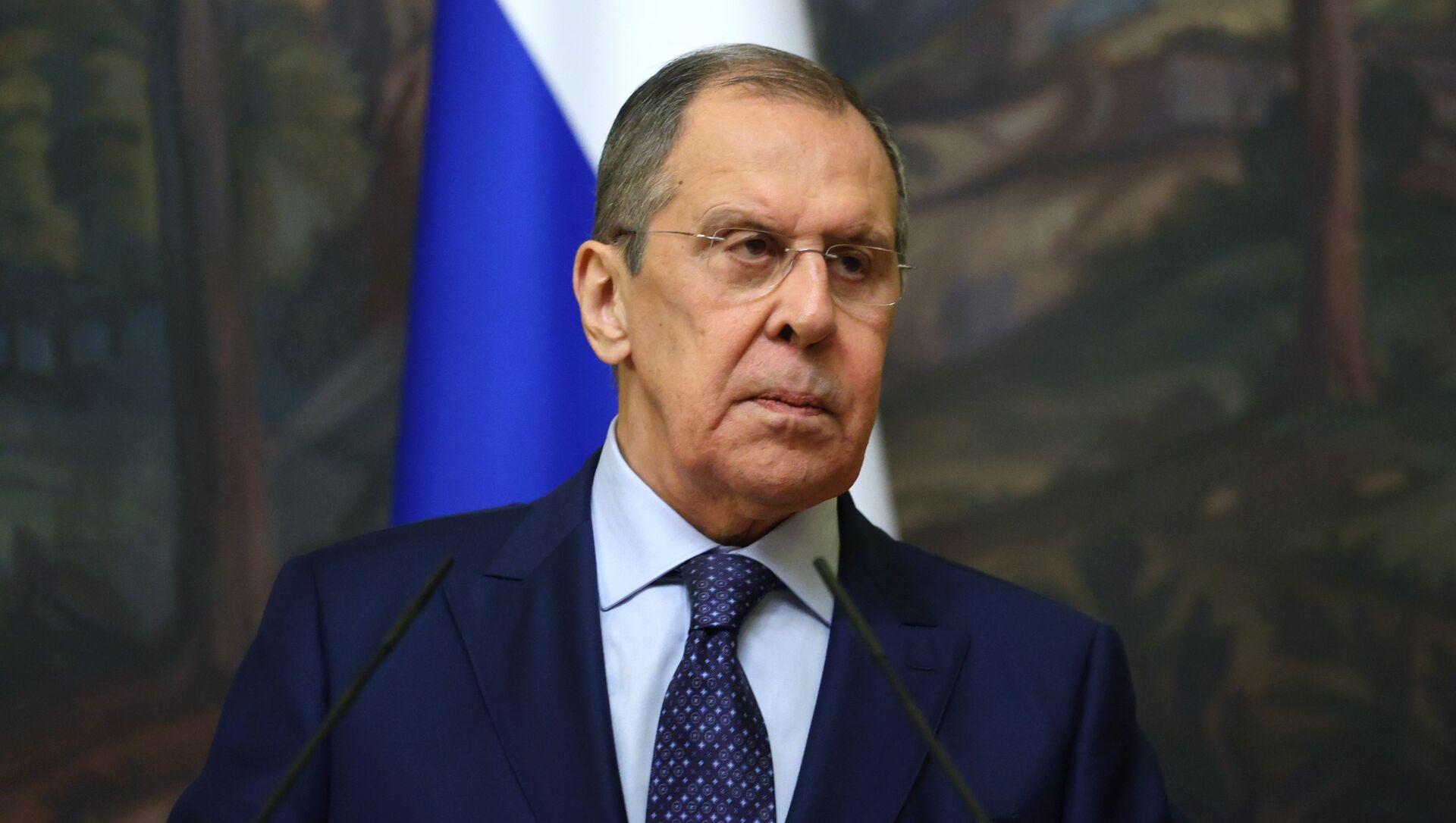 Bộ trưởng Ngoại giao Nga Sergei Lavrov. - Sputnik Việt Nam, 1920, 22.03.2021