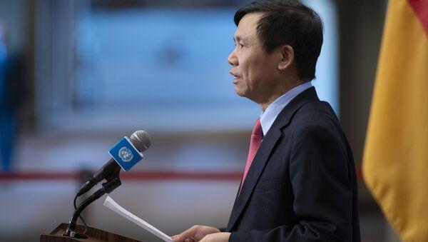 Trưởng Phái đoàn đại diện Việt Nam tại Liên hợp quốc Đặng Đình Quý - Sputnik Việt Nam