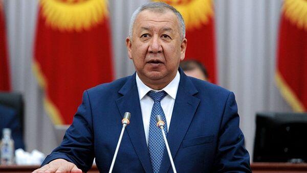 Kubatbek Boronov. - Sputnik Việt Nam