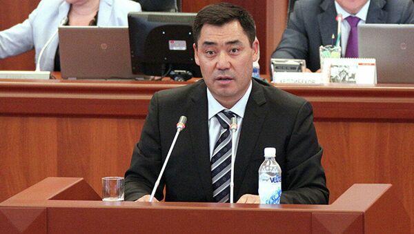 Tổng thống Kyrgyzstan Sadyr Japarov - Sputnik Việt Nam