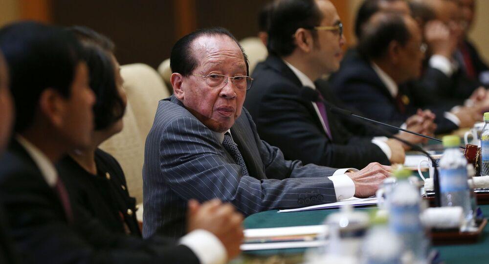 Phó Thủ tướng Campuchia Hor Namhong.