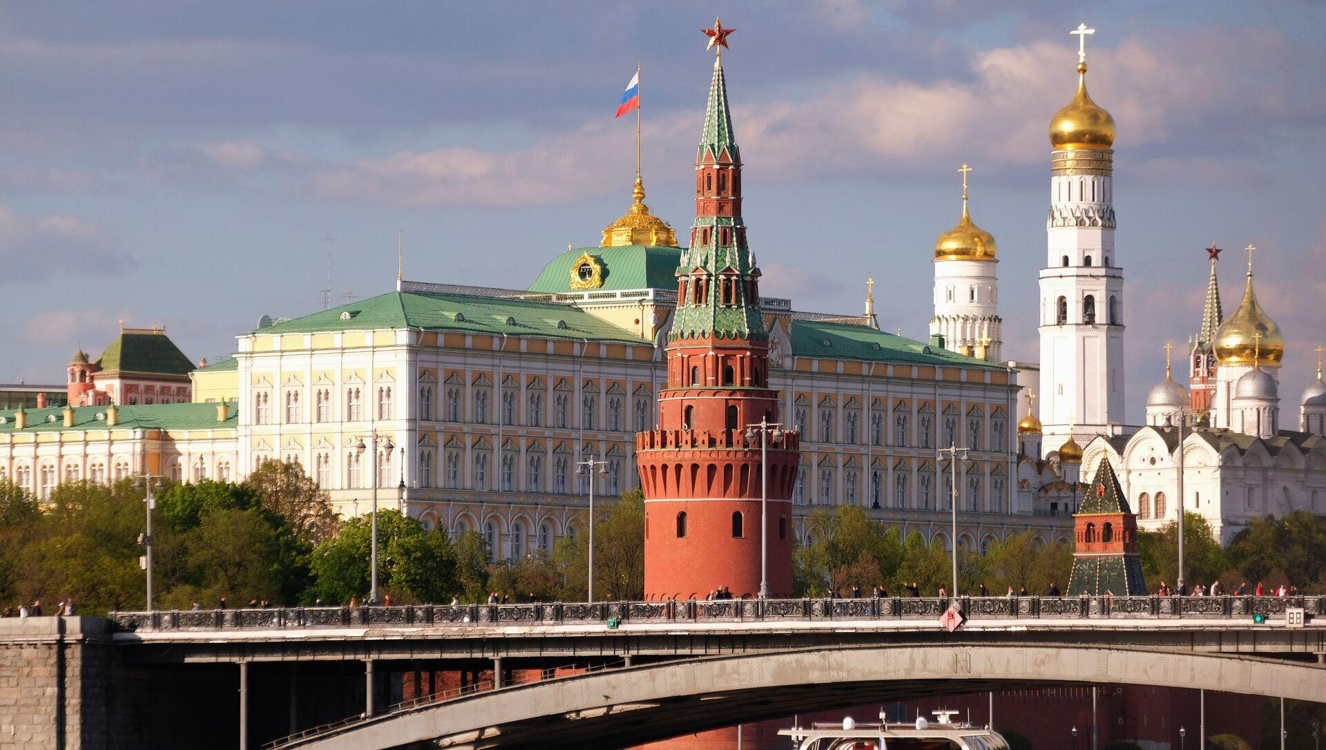 Quang cảnh Điện Kremlin ở Moscow - Sputnik Việt Nam, 1920, 03.06.2021