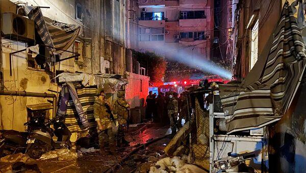 Vụ nổ ở Beirut - Sputnik Việt Nam