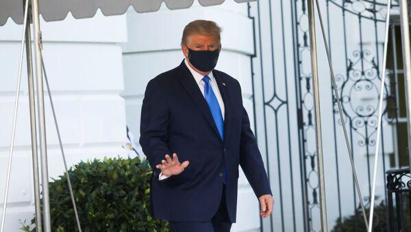 Tổng thống Mỹ Donald Trump tại Nhà Trắng, Washington. - Sputnik Việt Nam