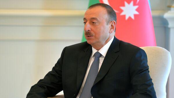 Tổng thống Azerbaijan. - Sputnik Việt Nam