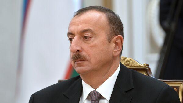 Tổng thống Azerbaijan Ilham Aliyev. - Sputnik Việt Nam