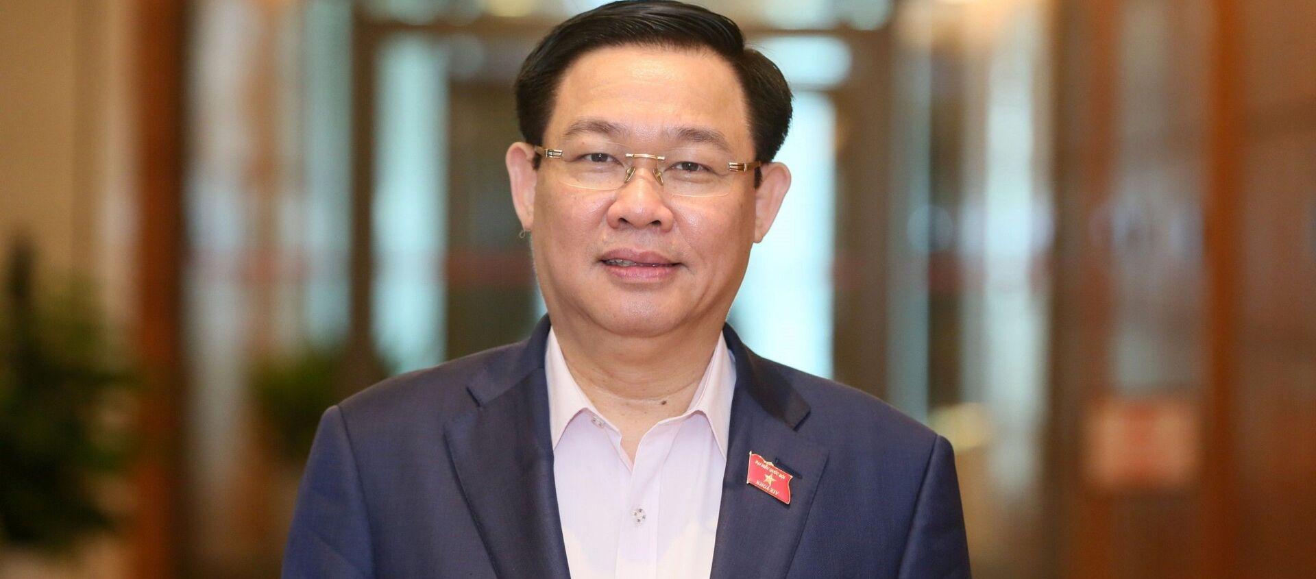 Đồng chí Vương Đình Huệ tiếp tục được bầu làm Bí thư Thành ủy Hà Nội khóa XVII, nhiệm kỳ 2020-2025 với số phiếu tuyệt đối. - Sputnik Việt Nam, 1920, 13.10.2020