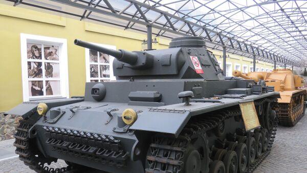 Xe tăng hạng trung  PzKfW III  (Т-III). Đức, 1937-1943. - Sputnik Việt Nam