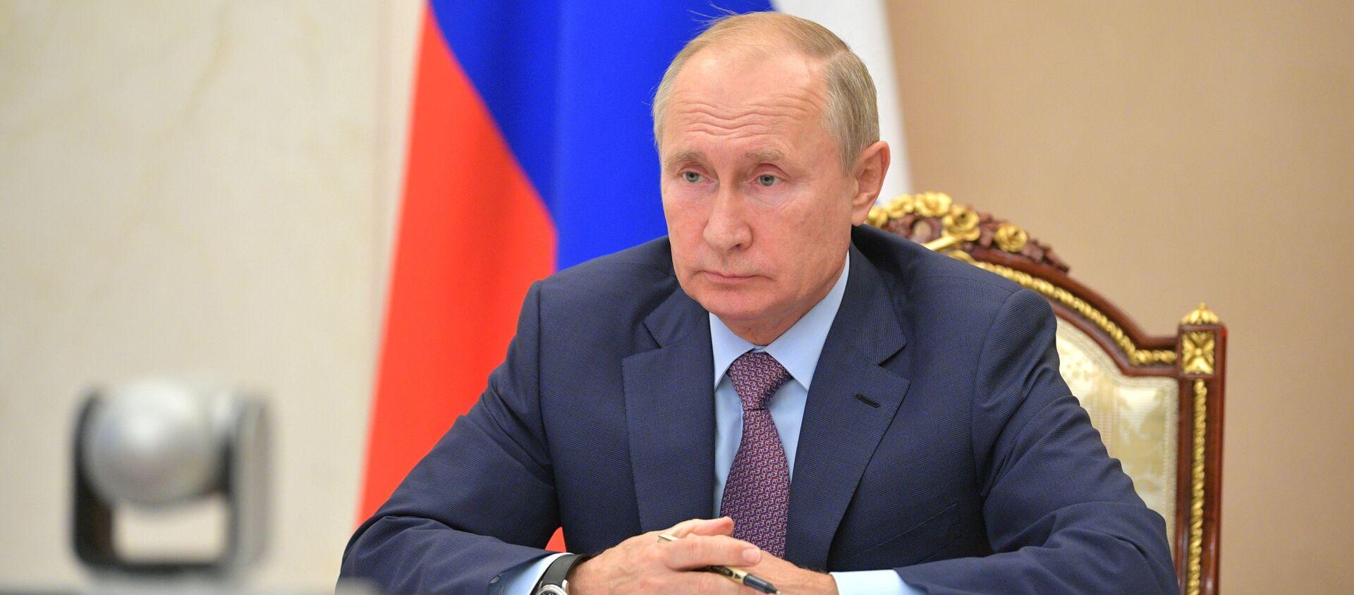 Tổng thống Nga Vladimir Putin. - Sputnik Việt Nam, 1920, 16.02.2021