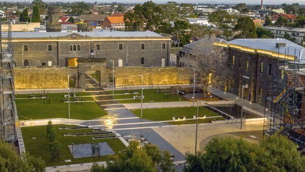Nhà tù lịch sử HM Pentridge ở ngoại ô Coburg phía bắc Melbourne (Úc) đã được chuyển đổi thành rạp chiếu phim. - Sputnik Việt Nam