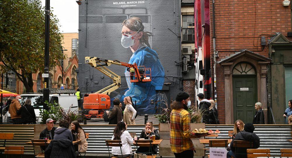Graffiti ở Manchester, Vương quốc Anh.