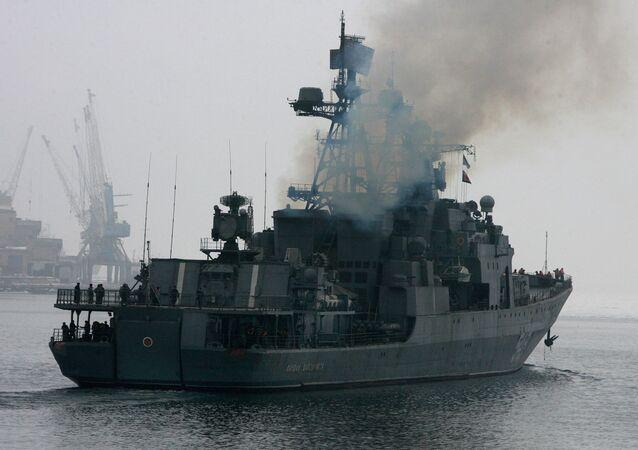 Khinh hạm Marshal Shaposhnikov (Nguyên soái Shaposhnikov).