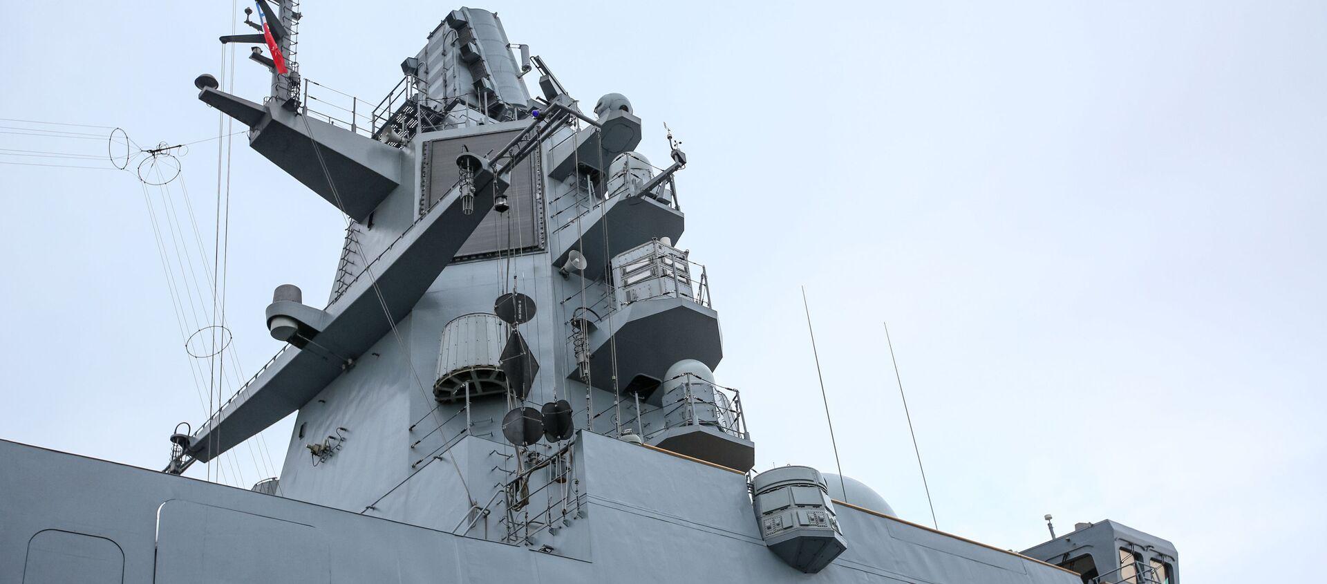 Khinh hạm Đề án 22350 Đô đốc Hạm đội Kasatonov ở cảng Severomorsk - Sputnik Việt Nam, 1920, 10.12.2020