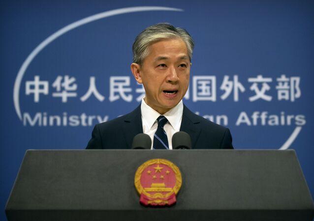 Phát ngôn viên Bộ Ngoại giao Wang Wenbin.