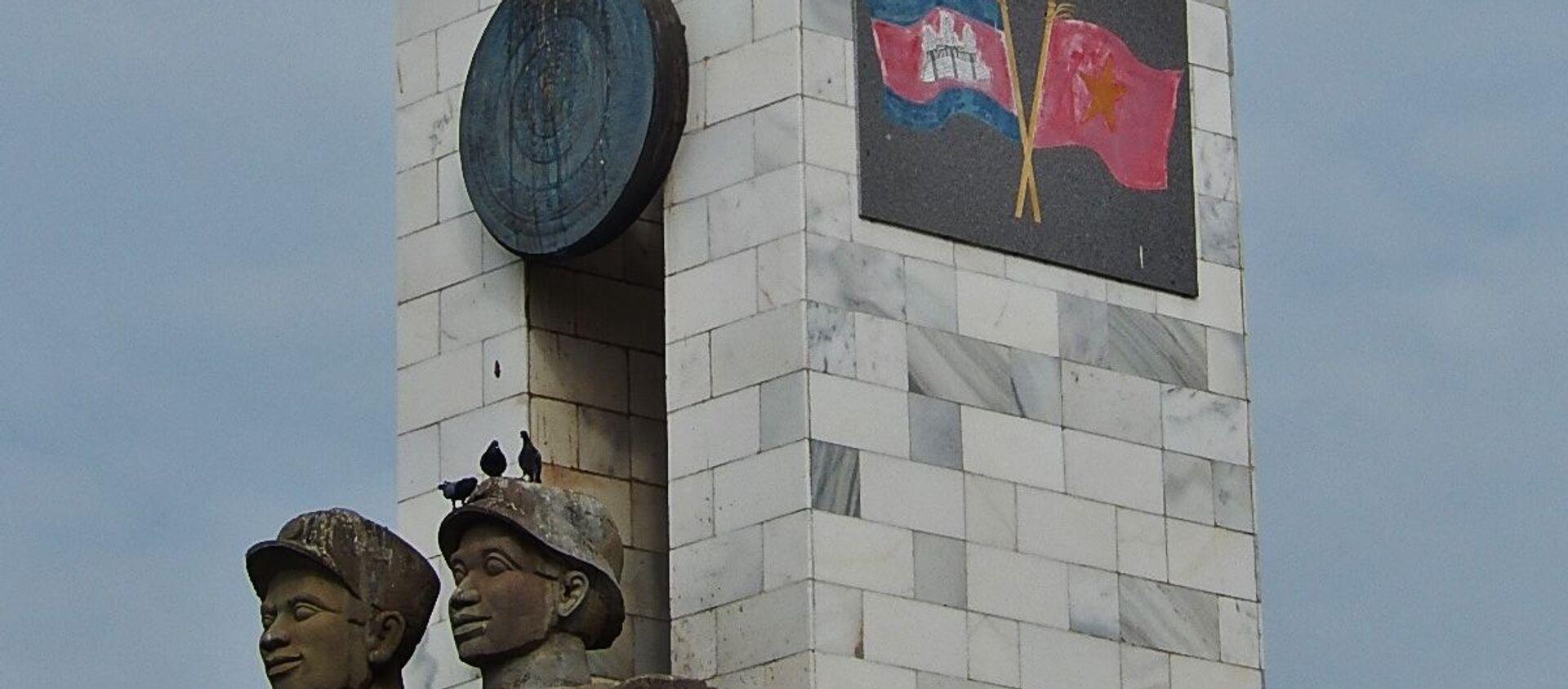 Tượng đài Hữu nghị Việt Nam - Campuchia - Sputnik Việt Nam, 1920, 02.11.2020