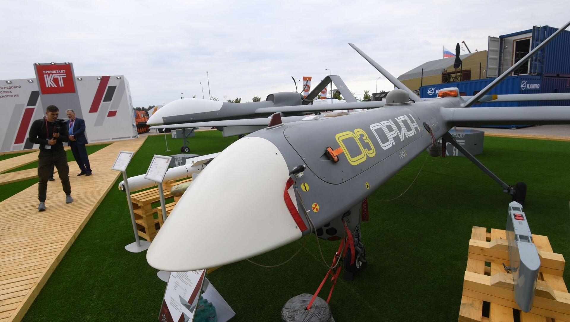 Máy bay không người lái (UAV) Orion-E của công ty Kronshtadt - Sputnik Việt Nam, 1920, 30.08.2021