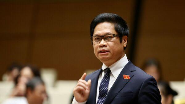 Đại biểu Quốc hội tỉnh Thái Bình Vũ Tiến Lộc phát biểu. - Sputnik Việt Nam