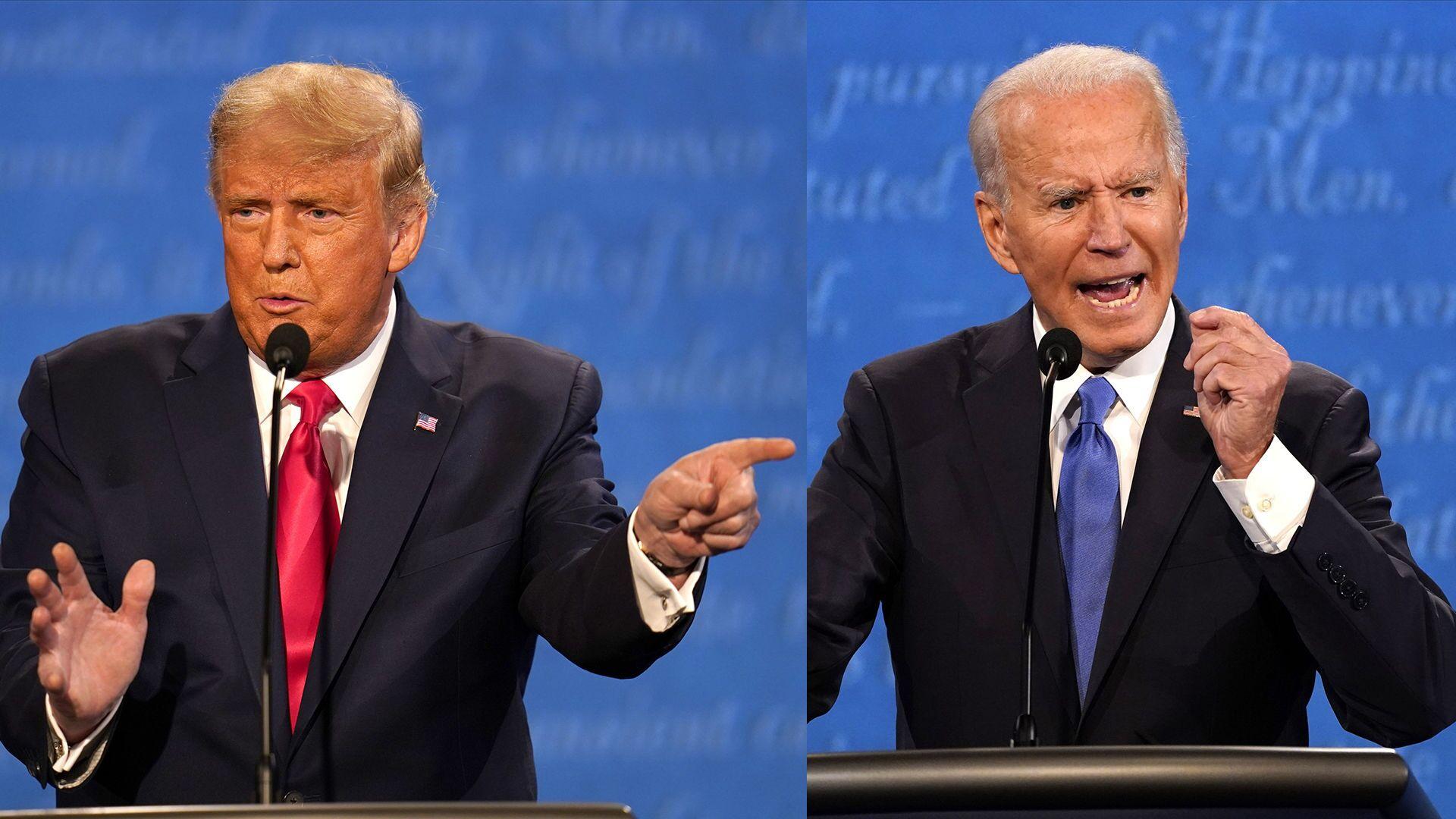 Ảnh ghép Donald Trump và Joe Biden - Sputnik Việt Nam, 1920, 22.09.2021