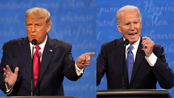 Ảnh ghép Donald Trump và Joe Biden - Sputnik Việt Nam
